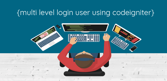 How to make multi level user login using codeigniter
