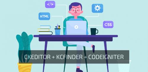 Cara Integrasi CKeditor dengan KCfinder pada Codeigniter (FULL TUTORIAL)