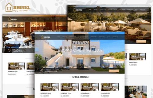 Mhotel v.1 – Source Code Company Profile Hotel